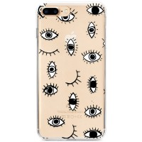 Kryt pro iPhone 7 Plus / 8 Plus Kreslené oči vzor