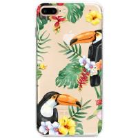 Kryt pro iPhone 7 Plus / 8 Plus Tukani v džungli