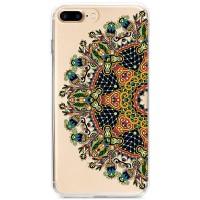 Kryt pro iPhone 7 Plus / 8 Plus Mandala v přírodních barvách
