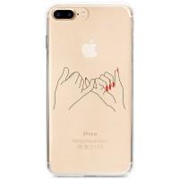 Kryt pro iPhone 7 Plus / 8 Plus Pevné přátelství