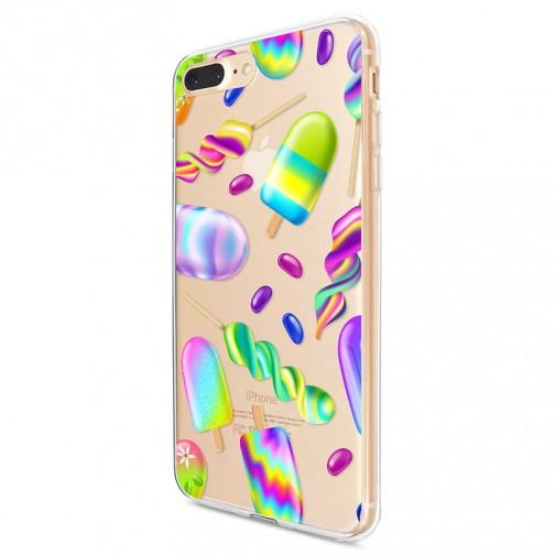 Kryt pro iPhone 7 Plus / 8 Plus Neonové zmrzliny