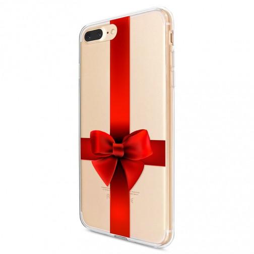 Kryt pro iPhone 7 Plus / 8 Plus Rudá mašle