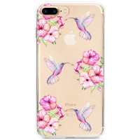 Kryt pro iPhone 7 Plus / 8 Plus Sladcí kolibříci