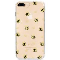 Kryt pro iPhone 7 Plus / 8 Plus Vzor včelí královna