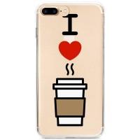 Kryt pro iPhone 7 Plus / 8 Plus Miluji kávu