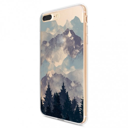 Kryt pro iPhone 7 Plus / 8 Plus Hory se stromy