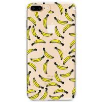 Kryt pro iPhone 7 Plus / 8 Plus Malované banány vzor