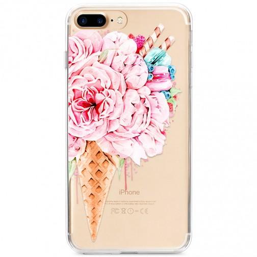 Kryt pro iPhone 7 Plus / 8 Plus Květinová zmrzlina