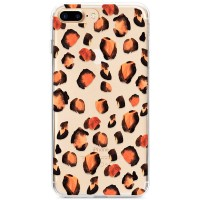 Kryt pro iPhone 7 Plus / 8 Plus Leopardí vzor