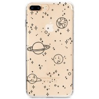 Kryt pro iPhone 7 Plus / 8 Plus Kreslený vesmír