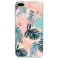 Kryt pro iPhone 7 Plus / 8 Plus Růžové jaro