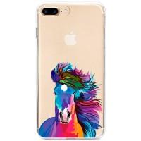 Kryt pro iPhone 7 Plus / 8 Plus Barevný kůň