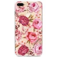 Kryt pro iPhone 7 Plus / 8 Plus Květiny vodovými barvami