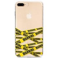 Kryt pro iPhone 7 Plus / 8 Plus Varovací páska