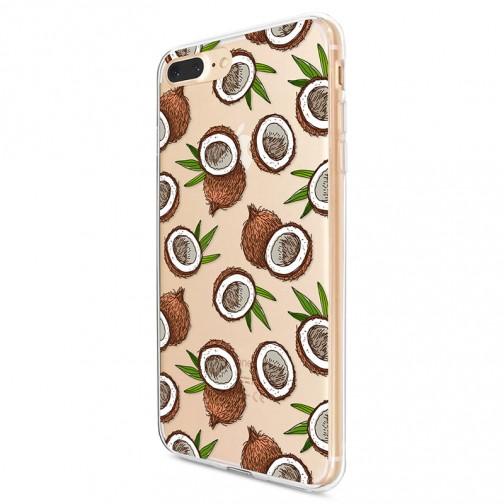 Kryt pro iPhone 7 Plus / 8 Plus Kokosový vzor