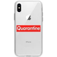 """Kryt na iPhone X/XS Karanténa """"Quarantine"""""""