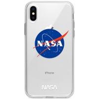 Kryt pro iPhone X/XS Logo NASA