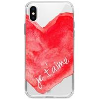 Kryt pro iPhone X/XS Srdce - Miluji tě