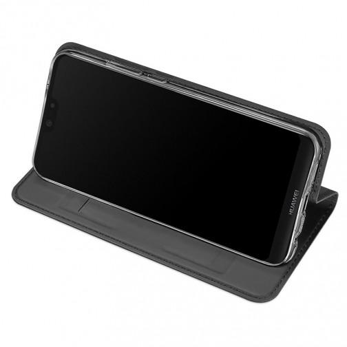 Luxusní Pouzdro DUX DUCIS Skin Pro pro Huawei P20 Lite - černé