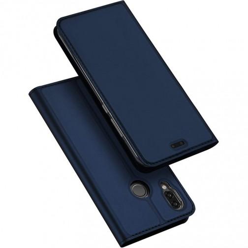 Luxusní Pouzdro DUX DUCIS Skin Pro pro Huawei P20 Lite - modré