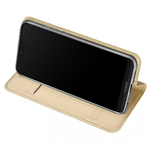 Luxusní Pouzdro DUX DUCIS Skin Pro pro Huawei P20 Lite - zlaté