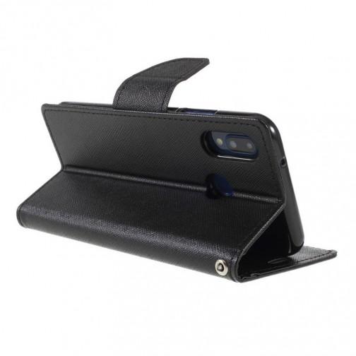 Pouzdro Mercury Fancy Diary pro Huawei P20 Lite - černé