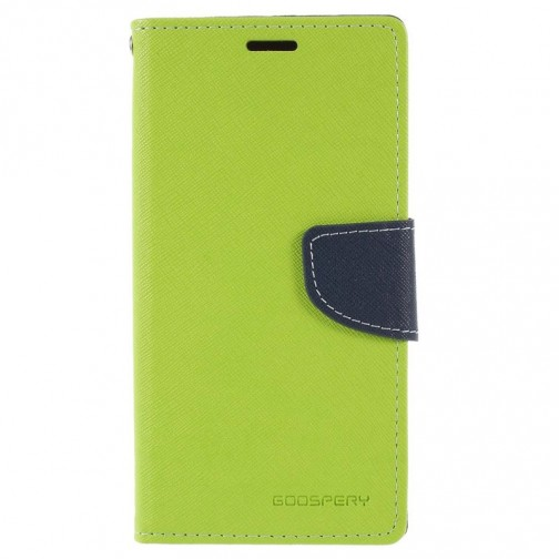 Pouzdro Mercury Fancy Diary pro Huawei P20 Lite - zelené