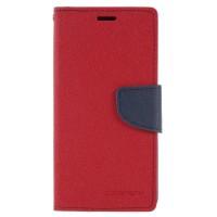 Pouzdro Mercury Fancy Diary pro Huawei P20 Lite - červené