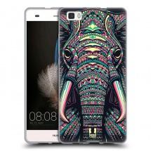 Silikonové pouzdro na Huawei P8 Lite - Head Case - aztec slon