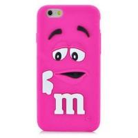 Silikonový 3D obal M&M's pro iPhone 5/5S/SE