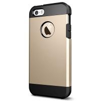 Odolný Slim Armor kryt pro iPhone 5/5S/5SE zlatý