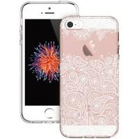 Kryt se vzorem ESR Totem Grenache Paisley pro Apple iPhone 5/5S/SE