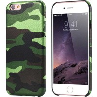 Pružný kryt Army Camouflage pro iPhone 6/6s