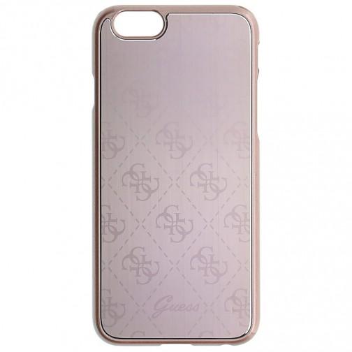 Guess 4G Metallic Hard Kryt pro iPhone 6/6s 2020 růžový