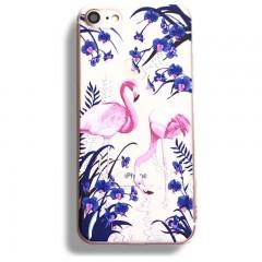 Silikonový kryt pro iPhone 6/6s Flamingo Flowers