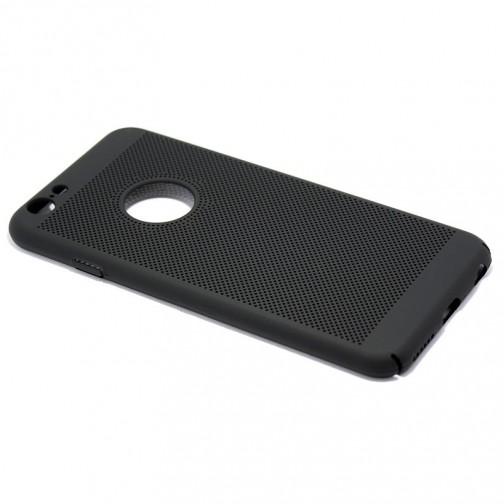 Ultra-tenký plastový kryt perforovaný pro iPhone 7/8, černý