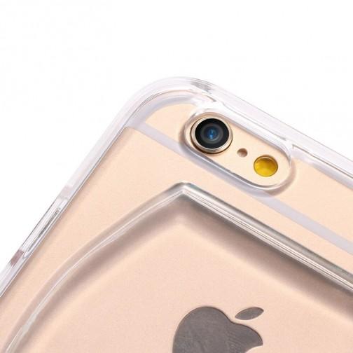 Plastový kryt pro iPhone 6/6s sklenice červeného vína