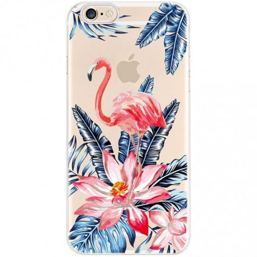 Silikonový kryt pro iPhone 8/7 Flamingo Flowers