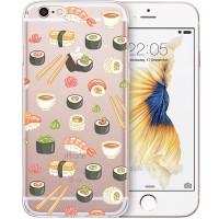 Silikonový kryt pro iPhone 6/6s Sushi