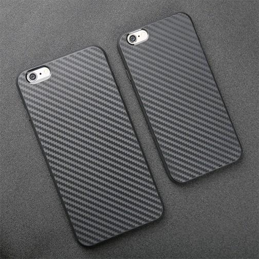 Ochranný kryt pro iPhone 6/6s Carbon Fiber Texture