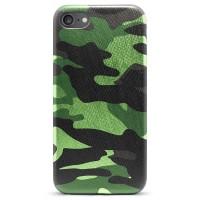 Pružný kryt Army Camouflage pro iPhone 7/8/SE 2020