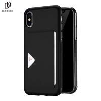 Luxusní pouzdro na iPhone X/XS DUX DUCIS Pocard Series, černé
