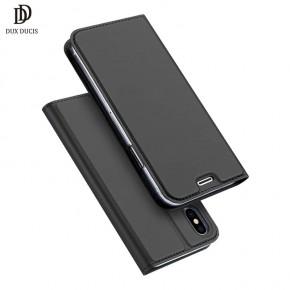 Luxusní pouzdro na iPhone X DUX DUCIS Skin Pro Series, černé