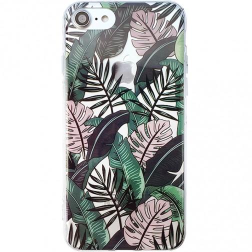 Silikonový obal pro iPhone 7/8 Jungle