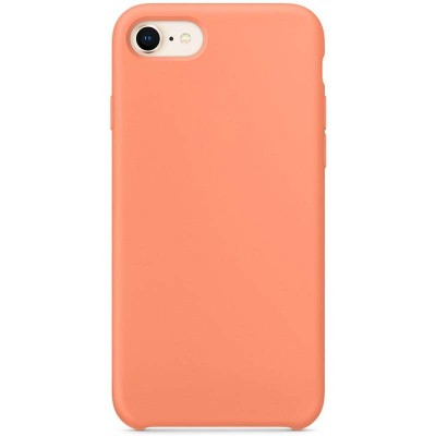 Originální silikonový kryt Cleara pro iPhone 7/8, oranžový