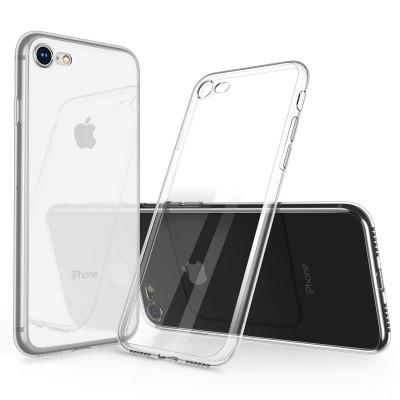 Ultratenký silikonový obal pro Apple iPhone 7/8 - průhledný