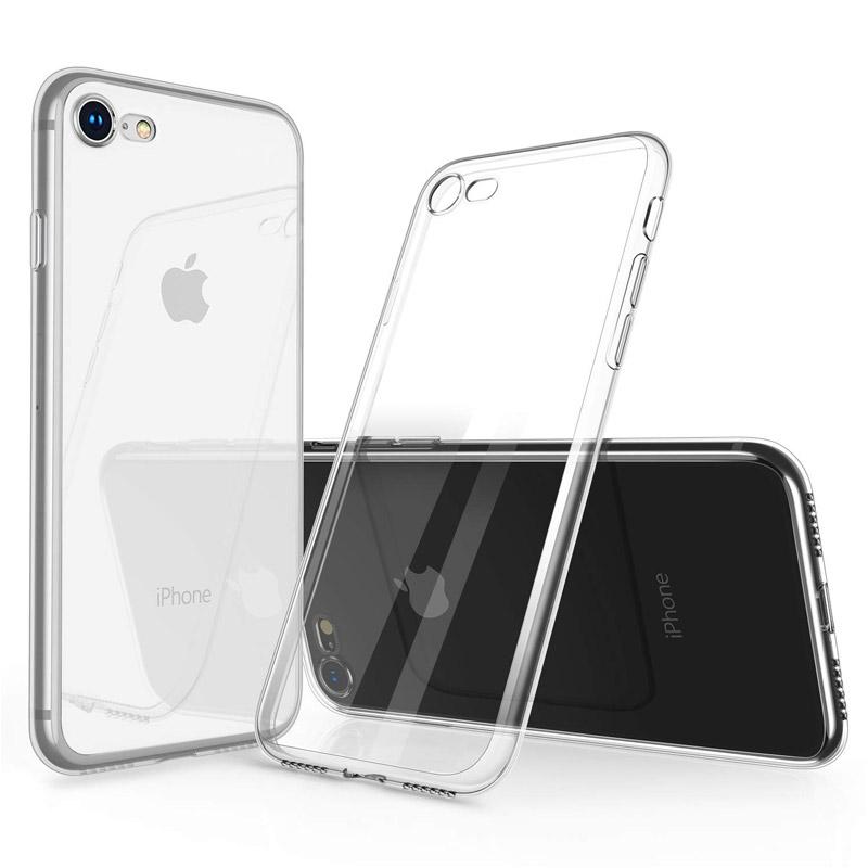 ... Ultratenký silikonový obal pro Apple iPhone 7 8 - průhledný ... 932b3ca8e64