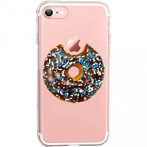 Silikonový kryt pro iPhone 7/8/SE 2020 Donut