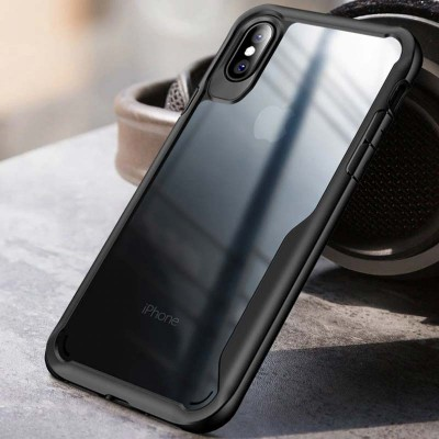 LUPHIE Shockproof Armor kryt pro iPhone 7/8/SE 2020 černý