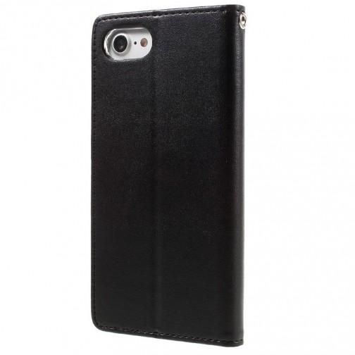 Pouzdro Mercury Bravo Diary na iPhone 7/8 černé